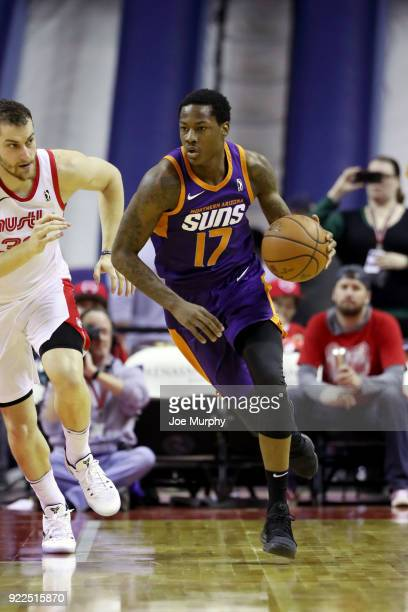 Archie Goodwin of the Northern Arizona Suns handles the ball against the Memphis Hustle during an NBA GLeague game on February 21 2018 at Landers...