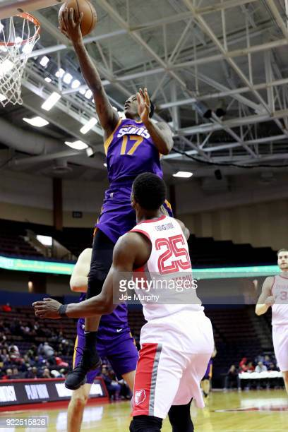 Archie Goodwin of the Northern Arizona Suns shoots the ball against Memphis Hustle during an NBA GLeague game on February 21 2018 at Landers Center...