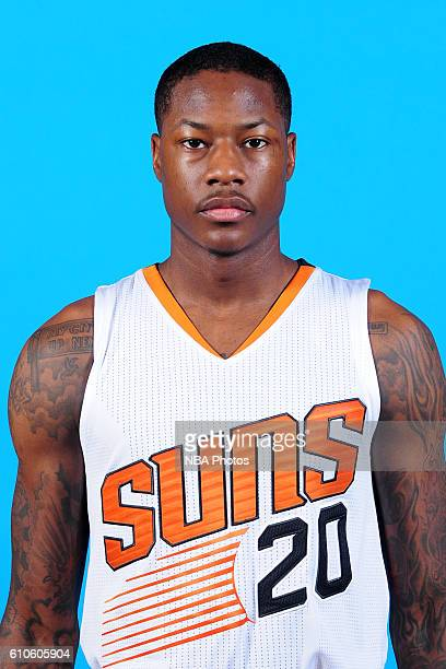 Archie Goodwin of the Phoenix Suns poses for a headshot during the 20162017 Phoenix Suns Media Day on September 26 at Talking Stick Resort Arena in...