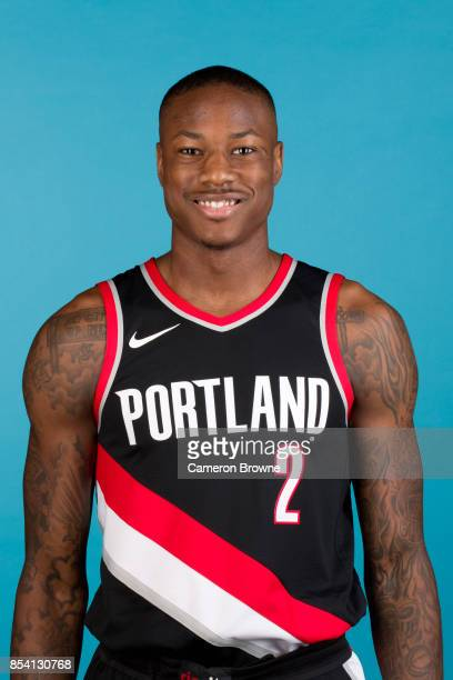 Archie Goodwin of the Portland Trail Blazers poses for a head shot during media day on September 25 2017 at the Moda Center Arena in Portland Oregon...