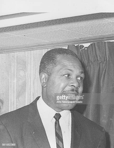 Archie Moore AfricanAmerican professional boxer and the Light Heavyweight World Champion January 10 1961