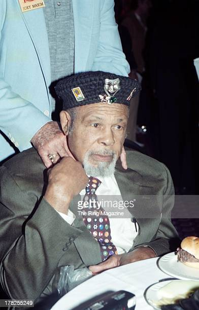 Archie Moore poses during an event