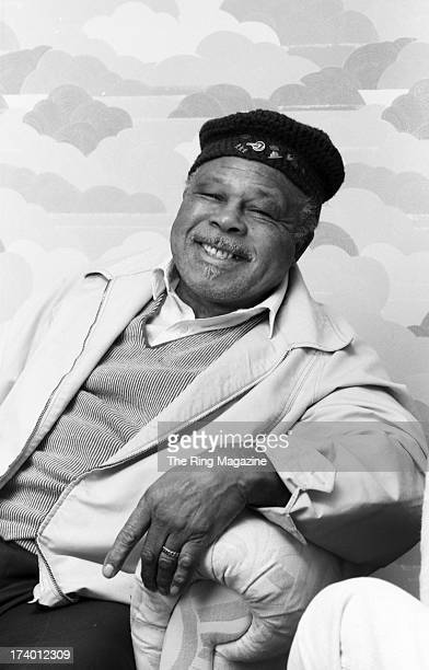 Archie Moore poses for a portrait