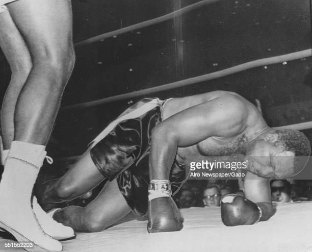 Archie Moore was an American professional boxer and the Light Heavyweight World Champion in the ring on the ground 1946