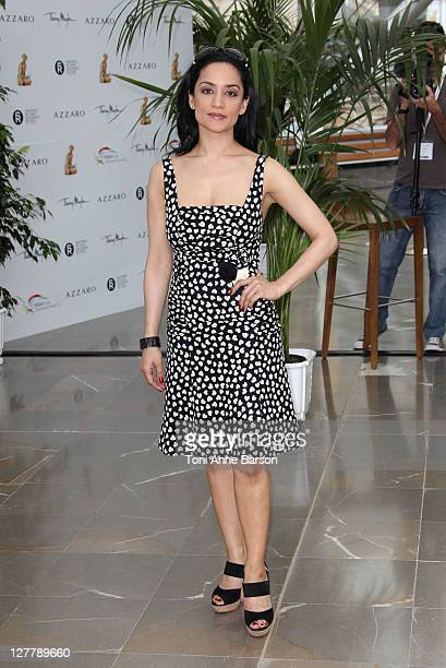 Archie Panjabi attends Photocall for 'The Good Wife' during the 51st Monte Carlo TV Festival on June 8 2011 in Monaco Monaco