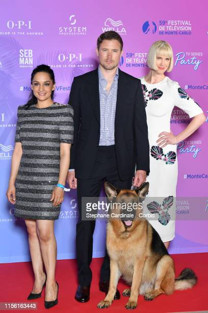 Archie Panjabi Diesel vom Burgimwald John Reardon and Lauren Lee Smith arrive at the 59th Monte Carlo TV Festival TV Series Party on June 15 2019 in...