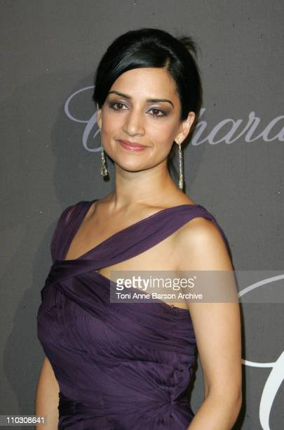 Archie Panjabi during 2007 Cannes Film Festival Chopard Trophy Presentation at Roaeraie du Port Canto in Cannes France
