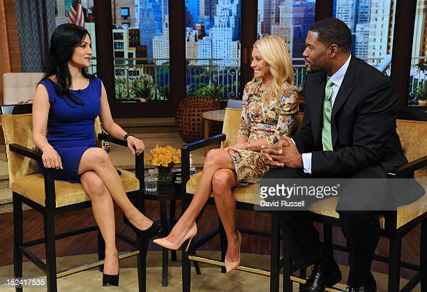 MICHAEL 9/20/12 Archie Panjabi from The Good Wife appears on the newlyrechristened syndicated talk show LIVE with Kelly and Michael distributed by...