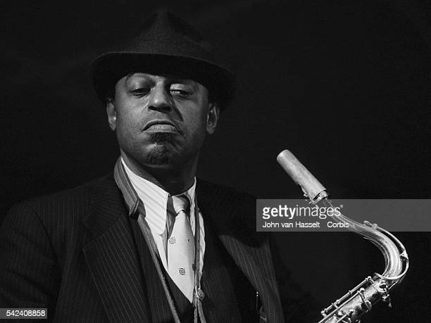 Archie Shepp in the New Morning jazz club Paris