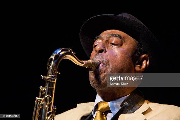 Archie Shepp performs during the Festival Jazz A La Villette 2011 at Grande Halle de La Villette on September 6 2011 in Paris France