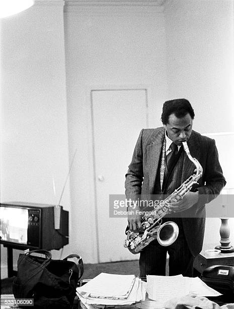Archie Shepp Playing Saxophone