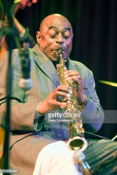 Archie Shepp saxophone performs on April 18th 2004 at the BIM huis in Amsterdam Netherlands