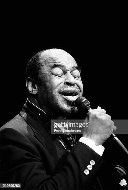 Archie Shepp tenor saxophonevocal performs on January 20th 1991 at the BIM huis in Amsterdam Netherlands