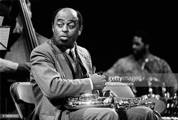 Archie Shepp tenor saxophonevocal performs on November 5th 1991 at the BIM huis in Amsterdam Netherlands