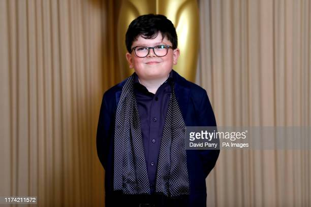 Archie Yates attending the Academy of Motion Picture Arts and Sciences New Members Party 2019 held at the Freemasons Hall in London