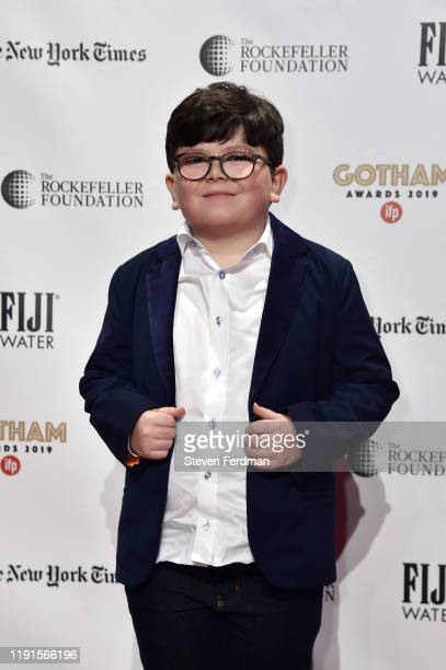 Archie Yates attends the 2019 IFP Gotham Awards at Cipriani Wall Street on December 02 2019 in New York City