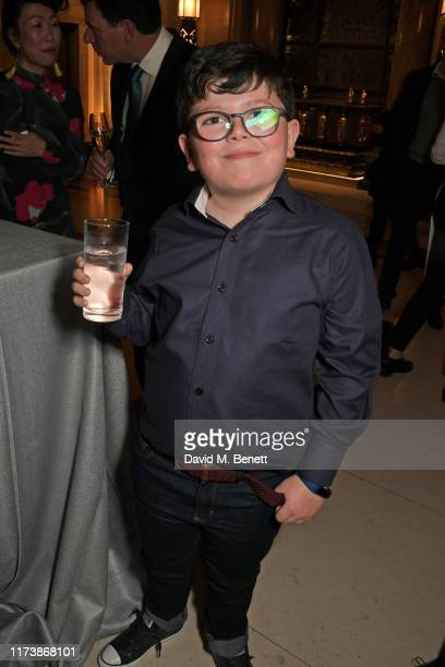 Archie Yates attends The Academy Of Motion Pictures Arts And Sciences 2019 New Members Party during the 63rd BFI London Film Festival at The...