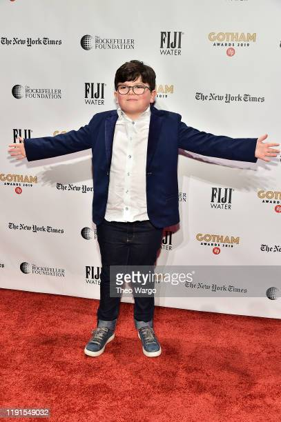 Archie Yates attends the IFP's 29th Annual Gotham Independent Film Awards at Cipriani Wall Street on December 02 2019 in New York City