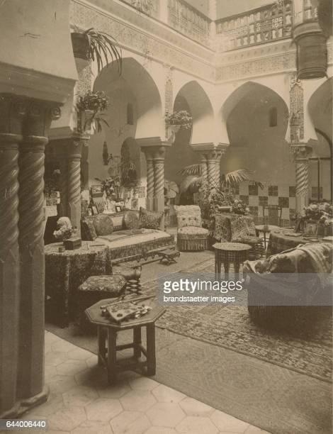 Archiepiscopal palace Algiers Algeria Journey to Tanger Oran Algér 1890 Albumen print Photograph Photo album from the estate of Empress Elisabeth...