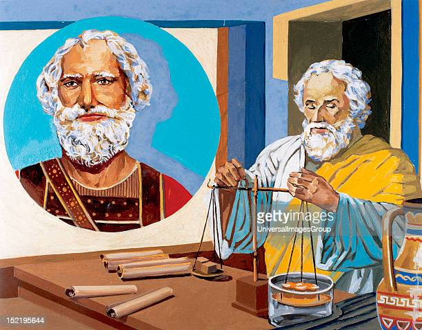 Archimedes Greek mathematician physicist engineer inventor and astronomer