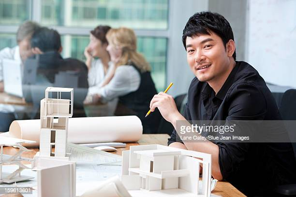 Architect and architectural models
