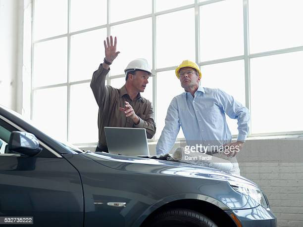 Architect and Businessman in Meeting