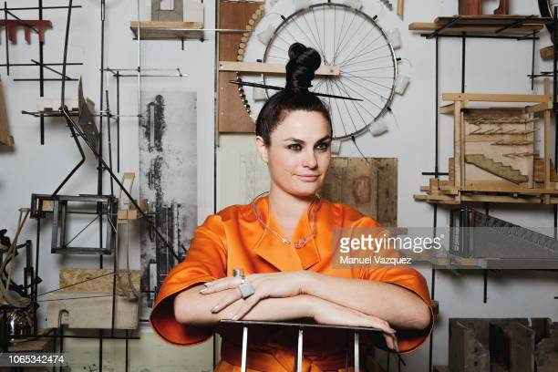 Architect and head of the UK's Architectural Association Eva Franch i Gilabert is photographed for El Pais on July 11 2018 in London England
