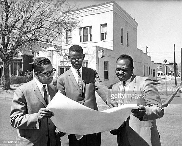 APR 13 1967 MAR 20 1968 Architect Bertram A Bruton Center Planned Much Needed Recreation Center Rev Cecil W Howardleft and Rev Acen L Phillips were...