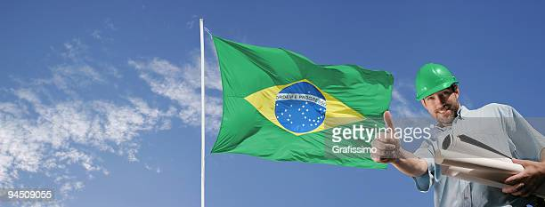arquiteto do edifício brasil 2014 - patriotismo - fotografias e filmes do acervo