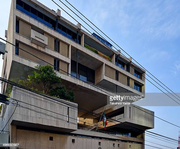 CONTENT] Architect by Kenzo Tange Associates Completed in 1970 Location at Mita 4312 Minatoku Tokyo Japan Suddenly like robot base appeared It is...