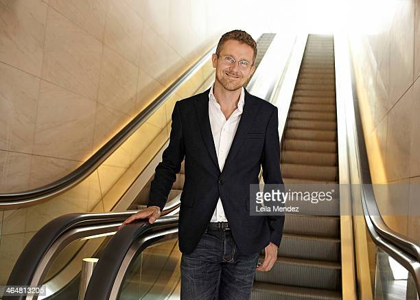 Architect Carlo Ratti is photographed for El Pais in Barcelona Spain