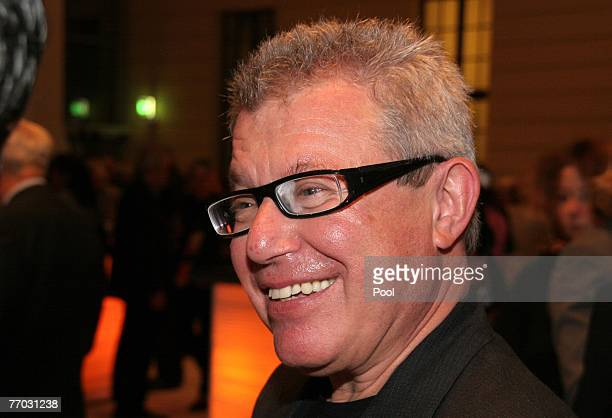 Architect Daniel Libeskind attends the opening of the new glass-covered courtyard at the Jewish Museum September 25, 2007 in Berlin, Germany....