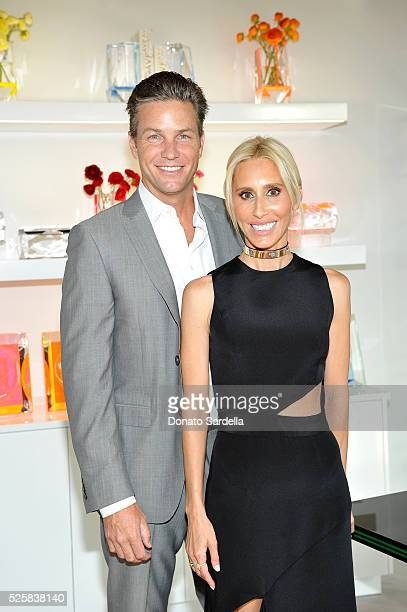 Architect Dax Miller and Designer Alexandra von Furstenberg attend the opening of the Alexandra Von Furstenberg Los Angeles flagship store on April...