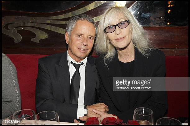 Architect Ed Tuttle Betty Catroux at Dinner At Maxim's To Celebrate International Art Fair Fiac In Paris