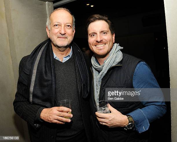 Architect Enrique Norten and Chef Seamus Mullen attend the Surface Magazine And Microsoft's Surface 2 Present Design Dialouges No. 4 on October 29,...