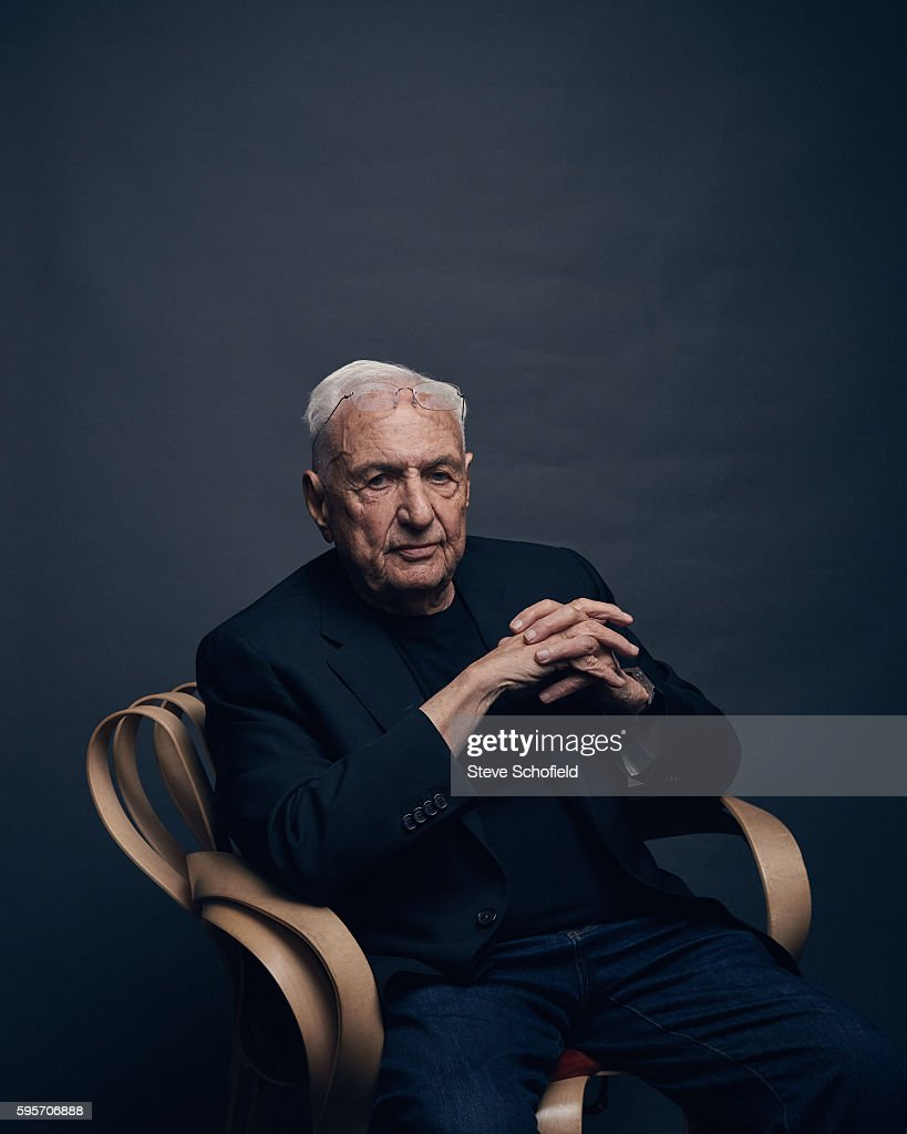 Frank Gehry, Esquire/Big Black Book UK, 2015