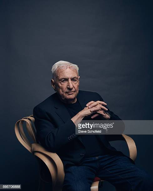 Architect Frank Gehry is photographed for Esquire magazine on June 12 2015 in Los Angeles California