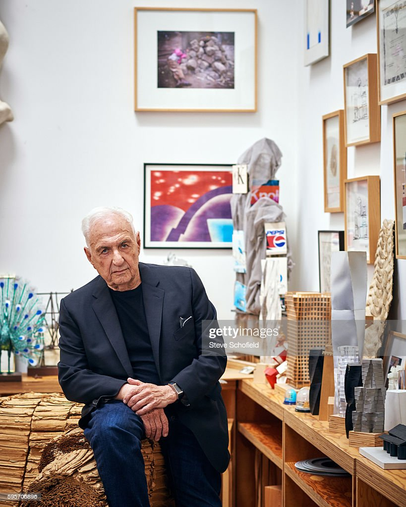 Architect Frank Gehry is photographed for Esquire magazine on June 12, 2015 in Los Angeles, California.