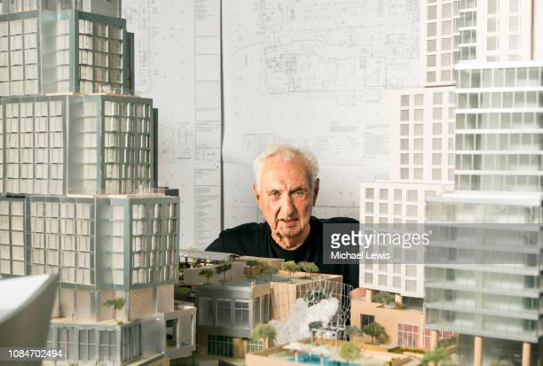 Architect Frank Gehry is photographed for Fortune Magazine on September 25 2018 at his office in Marina del Rey California