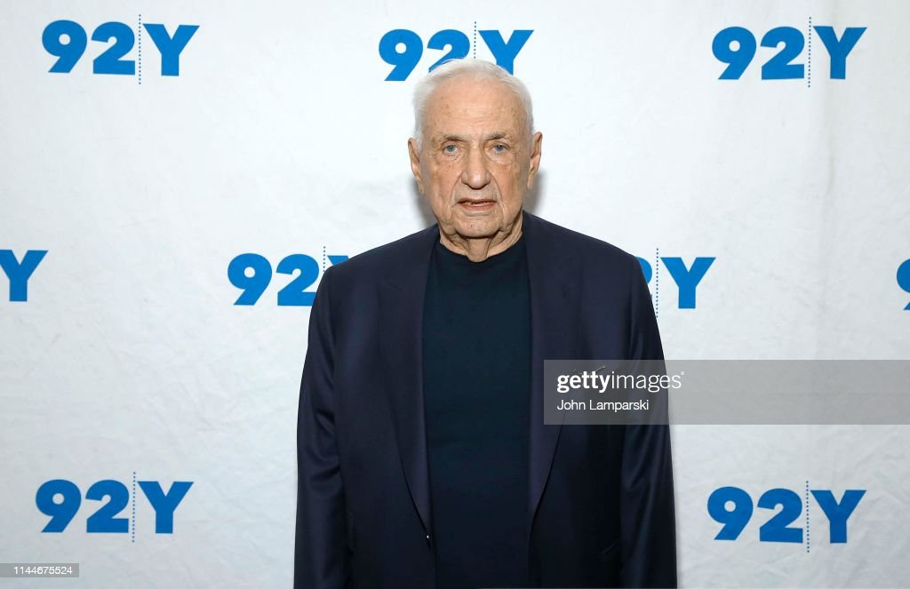 NY: Architect Frank Gehry In Conversation With New York Times Writer Paul Goldberger
