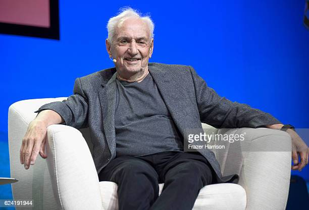 Architect Frank Gehry speaks onstage during Feed Your Creative Imagination at The Los Angeles Theatre during Airbnb Open LA Day 2 on November 18 2016...