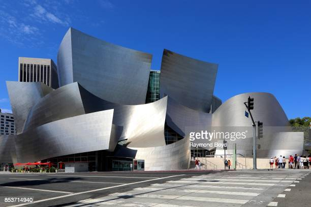 Architect Frank Gehry's Walt Disney Concert Hall in Los Angeles, California on September 10, 2017. MANDATORY MENTION OF THE ARTIST UPON PUBLICATION -...