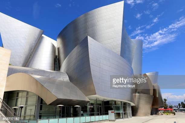 Architect Frank Gehry's Walt Disney Concert Hall in Los Angeles California on September 10 2017 MANDATORY MENTION OF THE ARTIST UPON PUBLICATION...