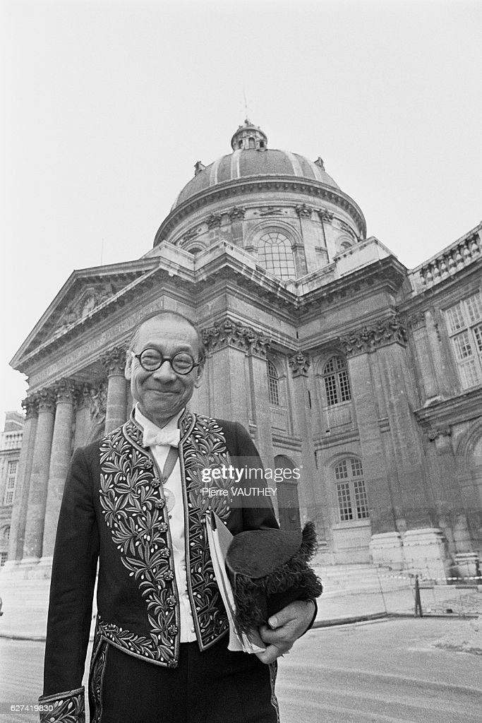 Architect I.M. Pei Enters Beaux Arts Academy : News Photo