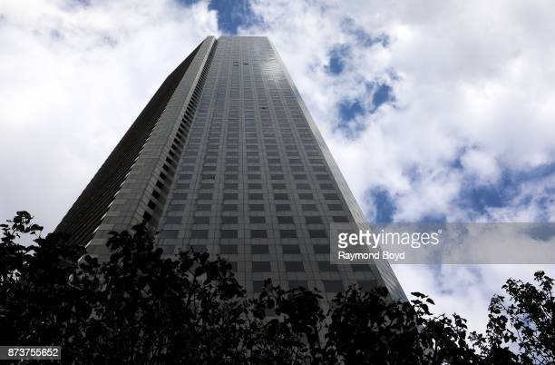 Architect IM Pei's JP Morgan Chase Tower in Houston Texas on November 4 2017 MANDATORY MENTION OF THE ARTIST UPON PUBLICATION RESTRICTED TO EDITORIAL...