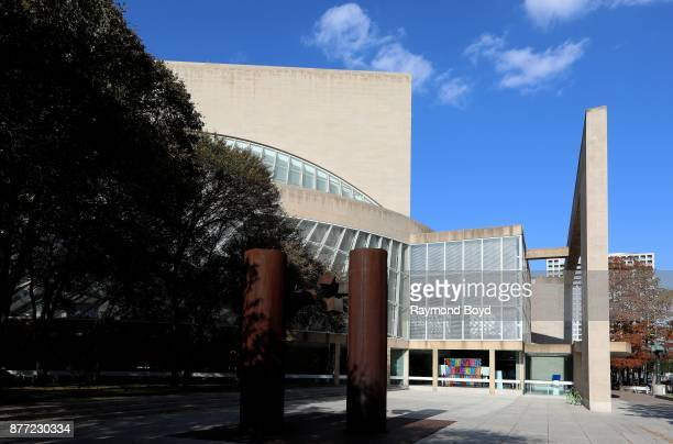 Architect IM Pei's Morton H Meyerson Symphony Center in Dallas Texas on November 5 2017 MANDATORY MENTION OF THE ARTIST UPON PUBLICATION RESTRICTED...