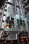 Acclaimed Architect Lord Rogers Revisits The Lloyds Building To Mark 25 Years Since Its Completion