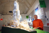 Architect Richard Rogers Exhibition Inside Out