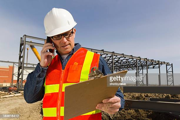 Architect Making a Call