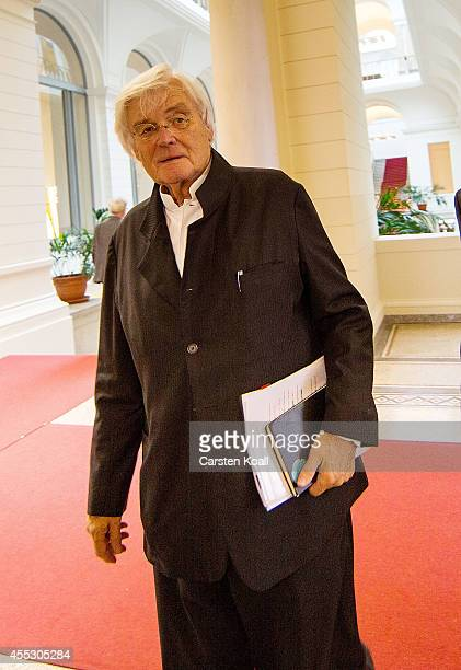 Architect Meinhard von Gerkan arrives to testify at the Berlin state parliamentary hearings investigating the new Berlin airport construction debacle...